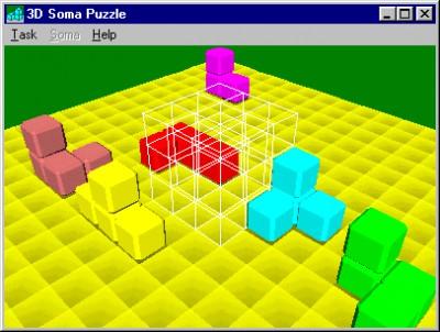3D Soma Puzzle 2.2 screenshot