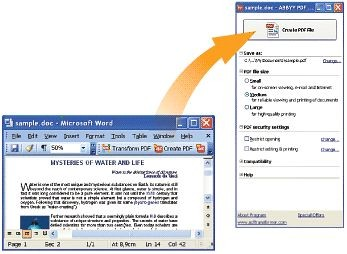 ABBYY PDF Transformer Pro 2.0 screenshot