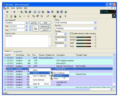 Advanced Administrative Tools 5.92 screenshot