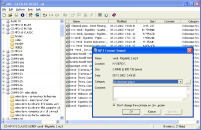 Advanced Disk Catalog 1.51 screenshot