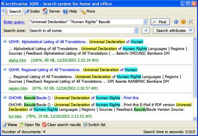 Archivarius 3000 4.79 screenshot