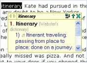 Artefact Dictionary 1.71 screenshot