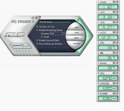 ASUS PCProbe II 1.04.29 screenshot