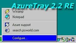 AzureTray 2.2 RE screenshot