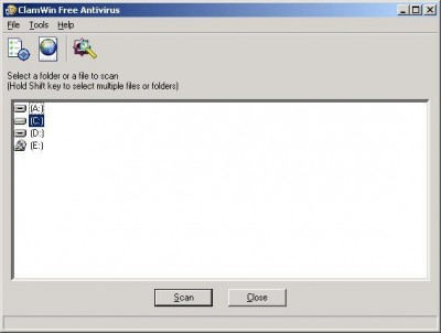 ClamWin Free Antivirus 0.87 screenshot