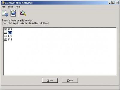 ClamWin Free Antivirus 0.87 screenshot