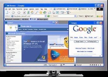 Crazy Browser 3.0 beta2 / 2.01 / 1.05 screenshot