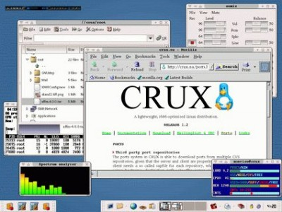 CRUX Linux 2.4 screenshot