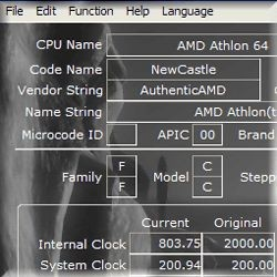 CrystalCPUID 4.14.2.404 screenshot