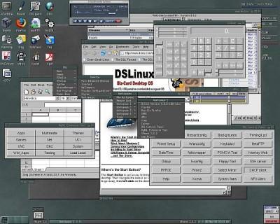 Damn Small Linux 4.2 screenshot