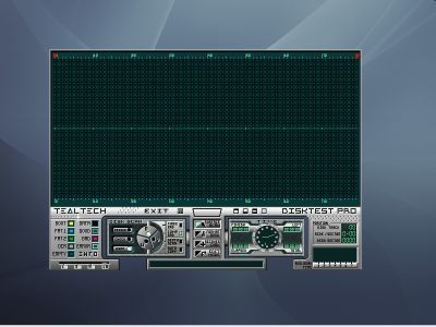 Disktest PRO 1.3 screenshot