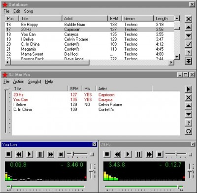 DJ Mix Pro 3.0 Build 51 screenshot