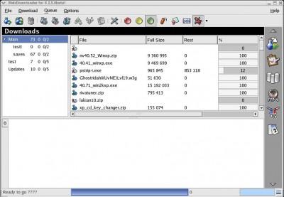 Downloader for X 2.5.7.1 screenshot