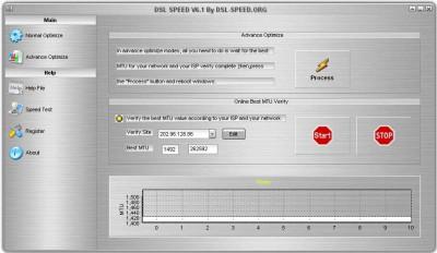 DSL Speed 8.0 screenshot