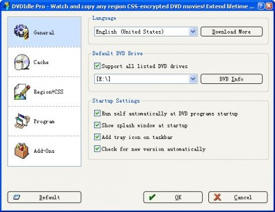 DVDIdle Pro 5.9.8.5 screenshot