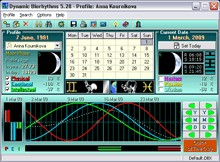 Dynamic Biorhythms 5.27 screenshot