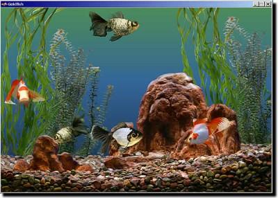 Goldfish Aquarium 2.0 screenshot