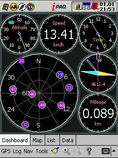 GPSDash 2.58 screenshot