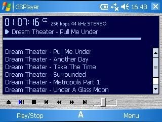 GSPlayer 2.28 / 2.17 rus screenshot