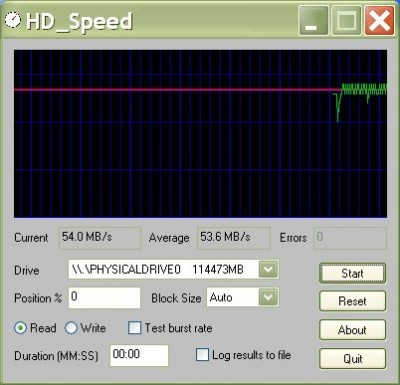 HD_Speed 1.5.3.64 screenshot