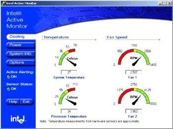 Intel Active Monitor 1.2.2 screenshot
