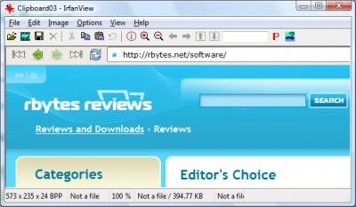 IrfanView 4.57 screenshot