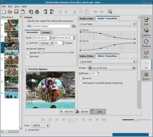 Kino 1.2.0 screenshot
