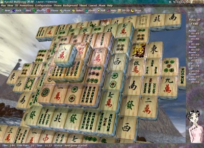 Kyodai Mahjongg 2006 1.42 screenshot