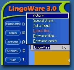 LingoWare 3.0 screenshot