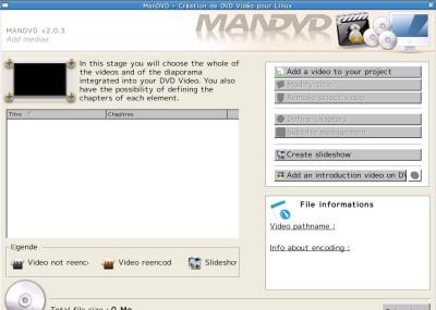 ManDVD 2.4 screenshot