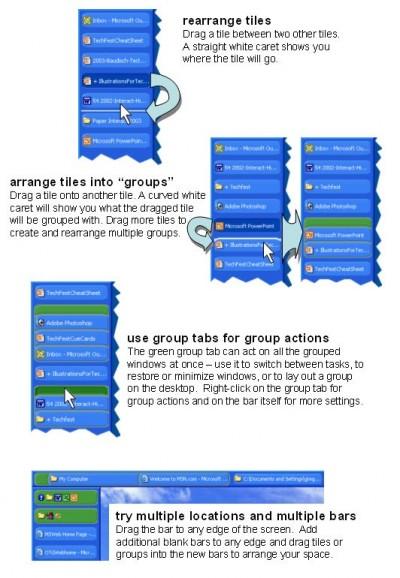 Microsoft GroupBar 1.2.0.0 screenshot