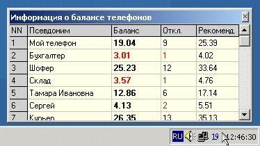 MobileBalance 2.56 screenshot