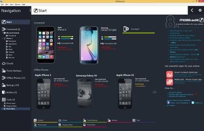 MOBILedit! 8.1 screenshot