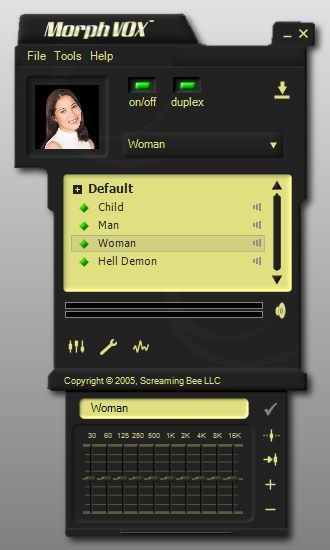 MorphVOX 3.4.12 screenshot
