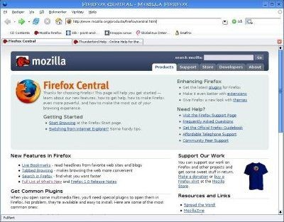 Mozilla Firefox 3.0 beta 2 RU screenshot
