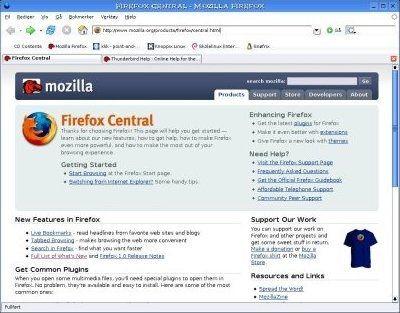 Mozilla Firefox 3.0 beta 2 RU screenshot