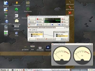 Musix GNU+Linux 0.99 screenshot