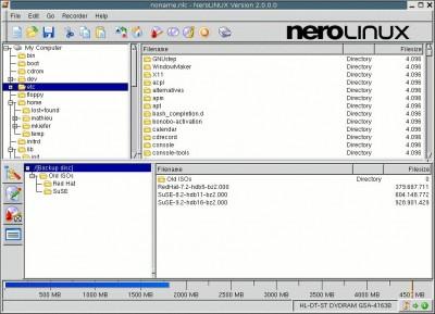 NeroLINUX 3.0.2.1 screenshot