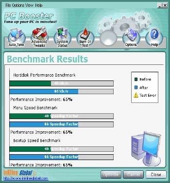 PC Booster 50 screenshot