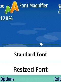 Pciloc Font Magnifier 1.34 screenshot