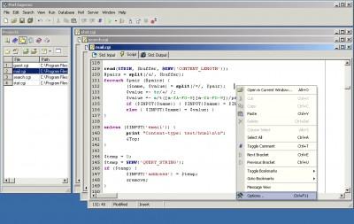 Perl Express 2.5 screenshot