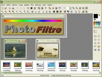PhotoFiltre 6.3.0 screenshot