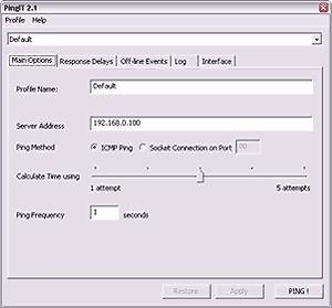 PingIt 2.0 screenshot