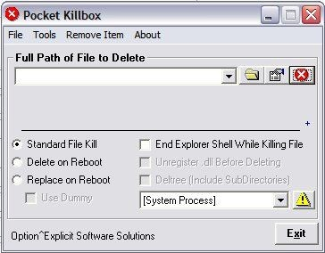 Pocket KillBox 2.0.0.881 screenshot