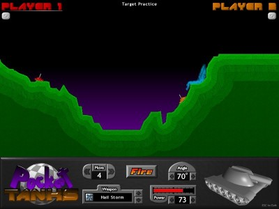 Pocket Tanks 1.0 screenshot
