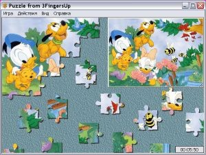 Puzzle from 3FingersUp 1.9.05 screenshot