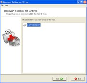 Recovery Toolbox for CD Free 2.2.0 screenshot