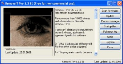 RemoveIT Pro 2.01.2008 screenshot