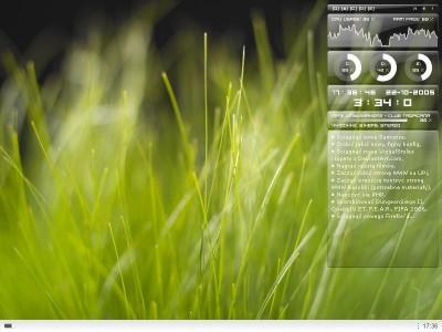 Samurize 1.64.3 screenshot