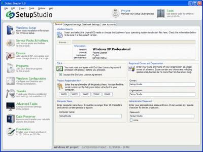 Setup Studio 1.0.9 screenshot